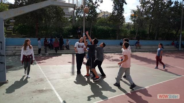 Αγωνας Μπασκετ