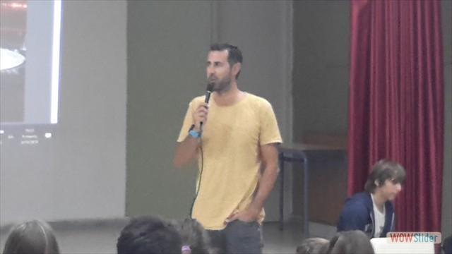 Ο Ολυμπιονίκης Δημήτρης Μούγιος στο σχολείο μας